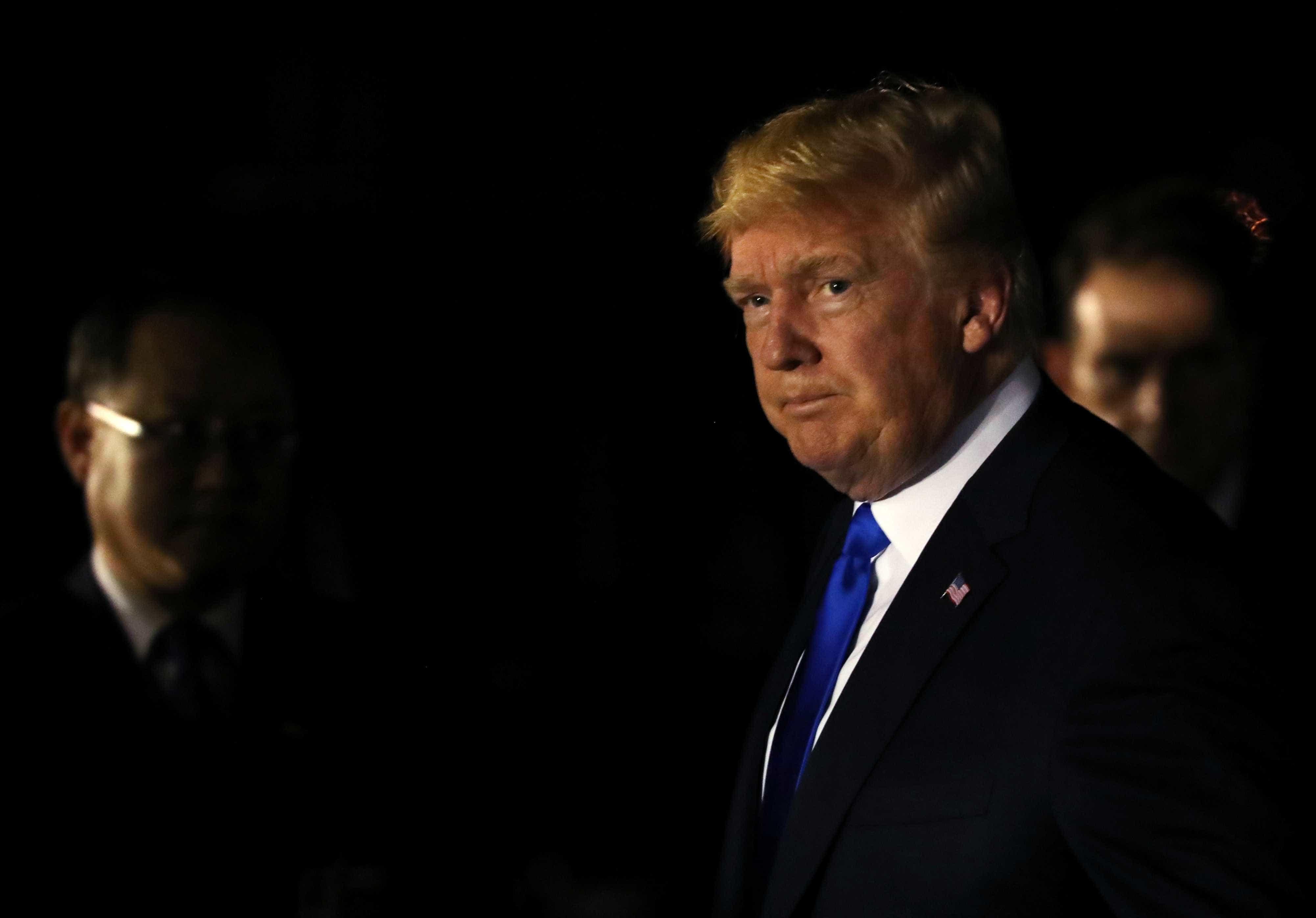 Líderes europeus atacam decisão de Trump sobre cúpula do G7