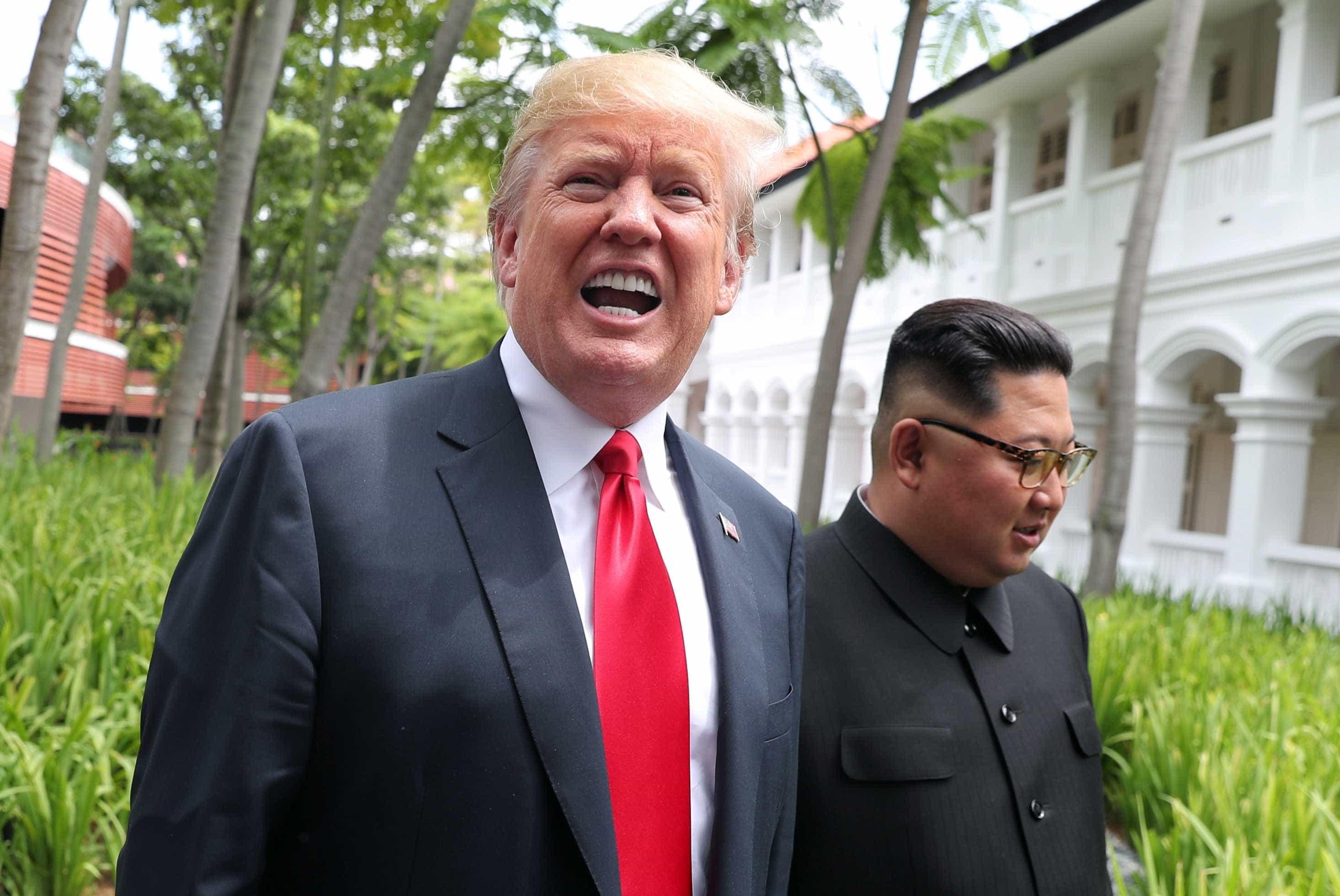 Kim aceitou convite de Trump para visitar EUA, diz agência