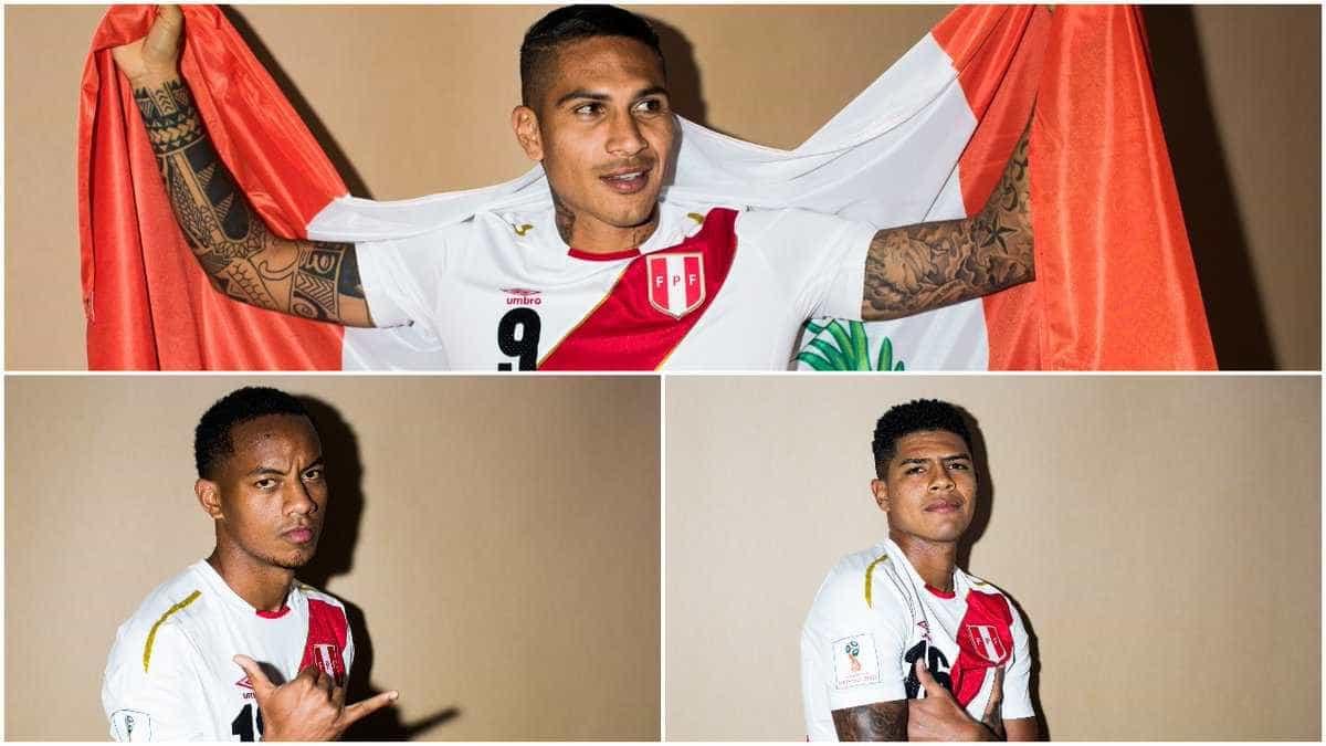 Jogadores posam para ensaio fotográfico oficial da Copa do Mundo; veja