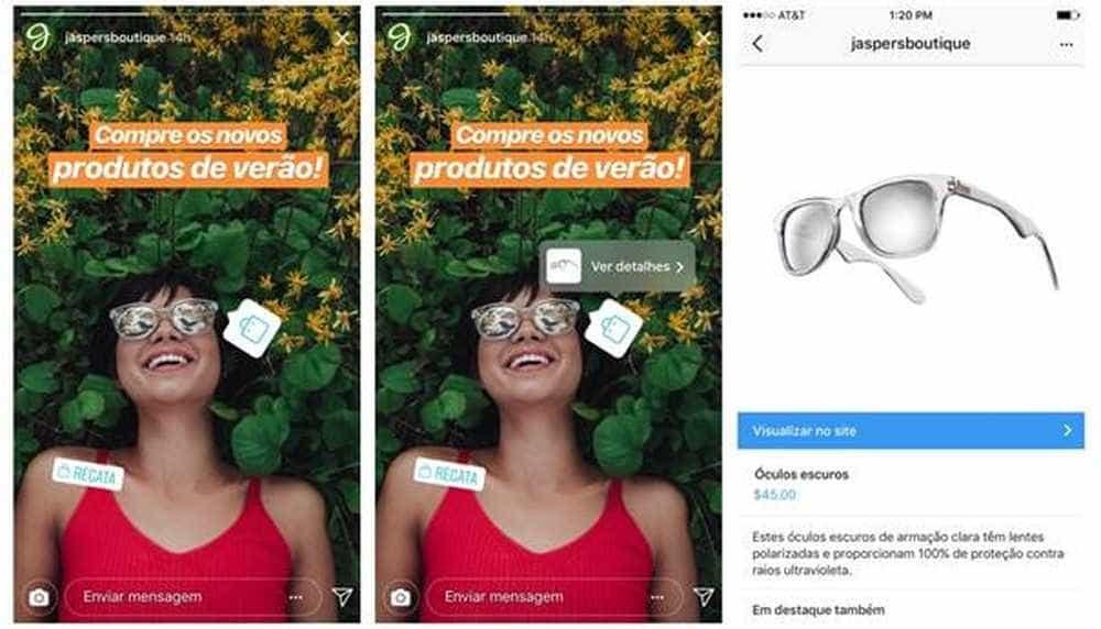 Instagram libera novo botão para brasileiros