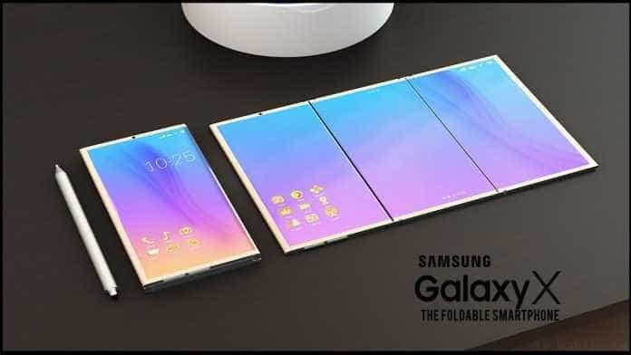 Celular dobrável da Samsung poderá custar mais caro do que iPhone X