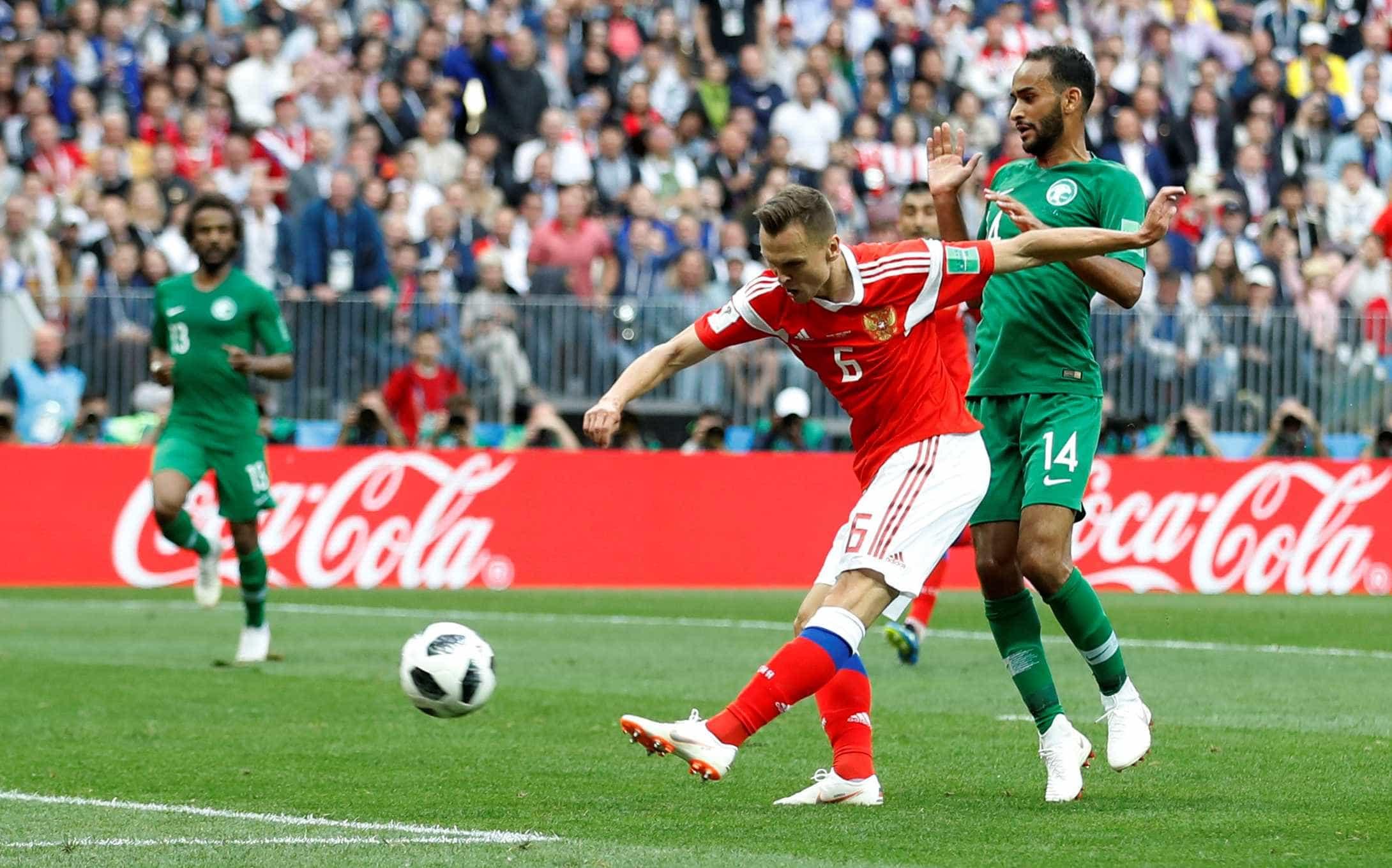 Jogadores sauditas pedem desculpas após goleada na abertura da Copa