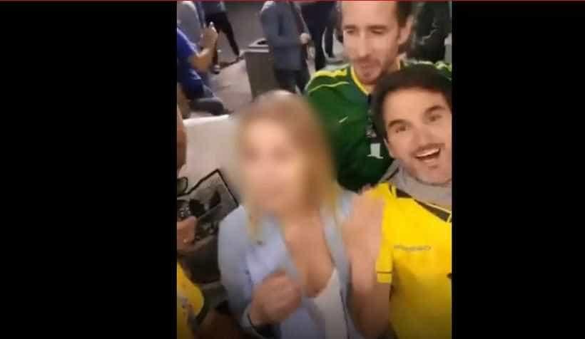 OAB sobre brasileiros que assediaram russa: 'Vergonha para todos nós'