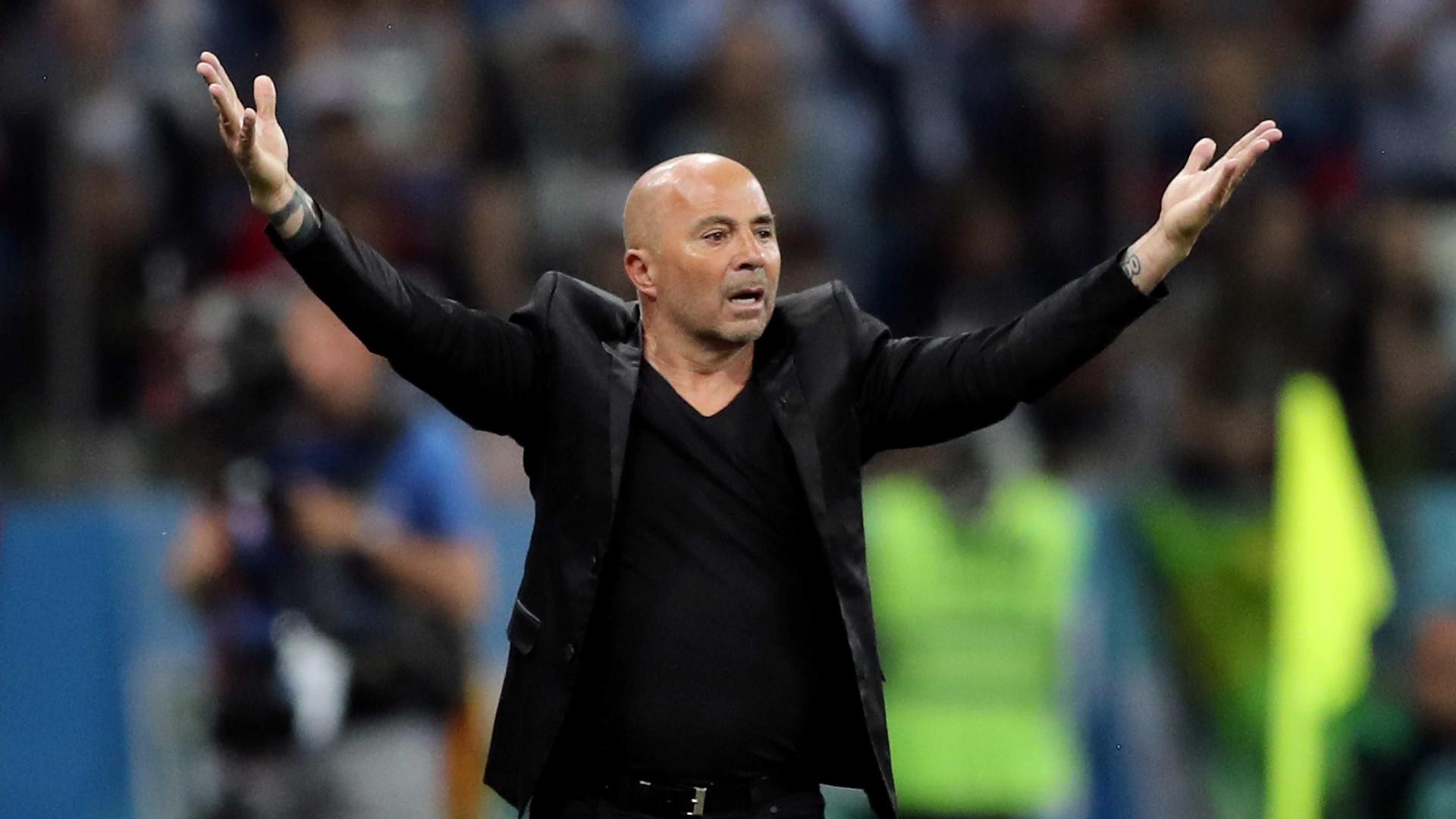 Jogadores da Argentina pedem demissão imediata de Sampaoli 8e9f7c1cbb6d5