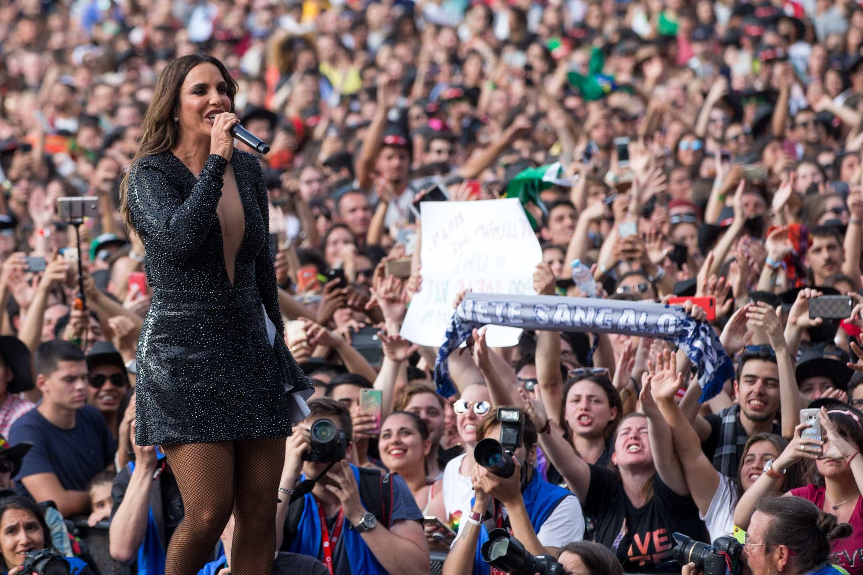 Ivete Sangalo e Daniela Mercury fazem dueto no Rock in Rio Lisboa