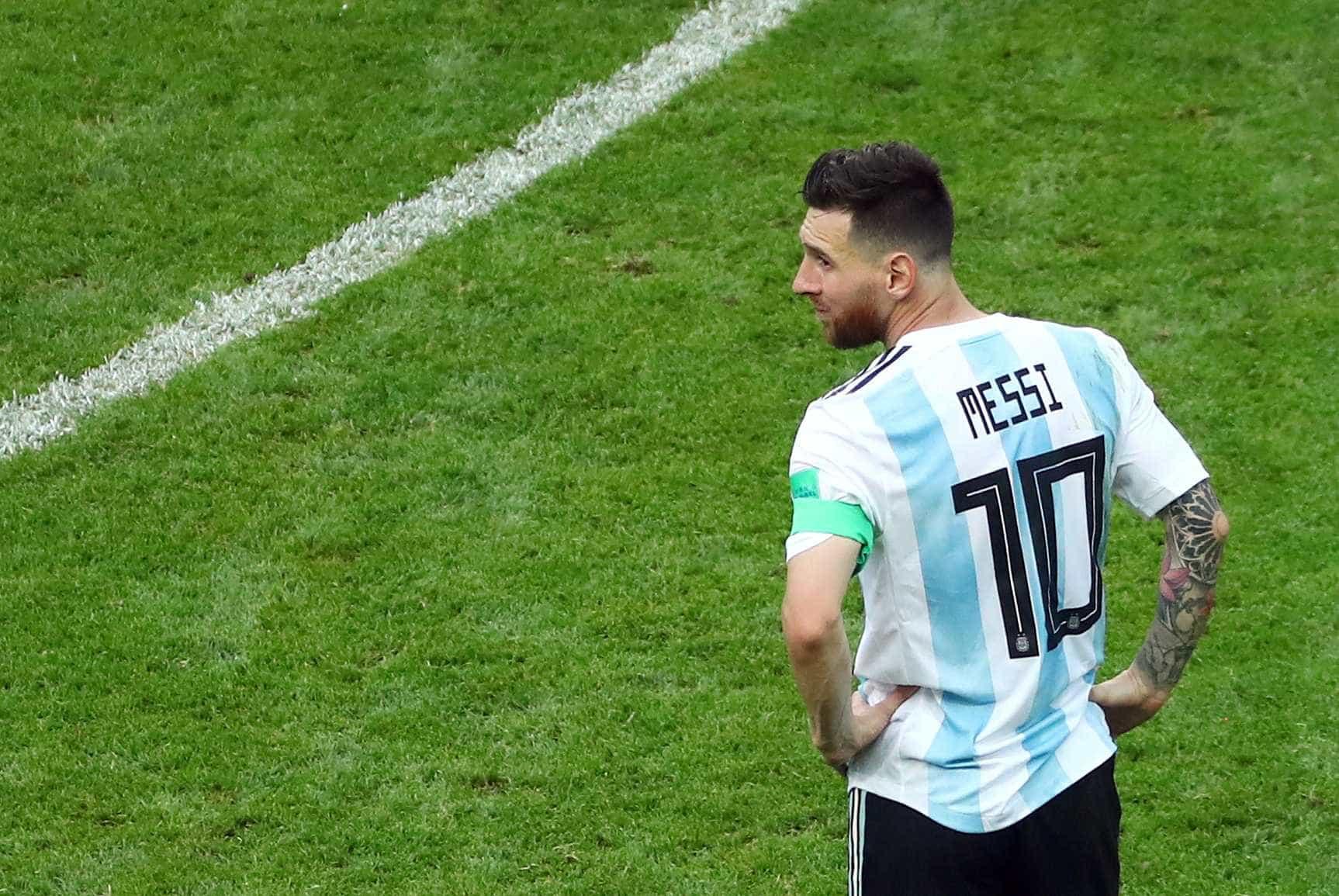 Messi não defenderá mais a Argentina em 2018, diz emissora