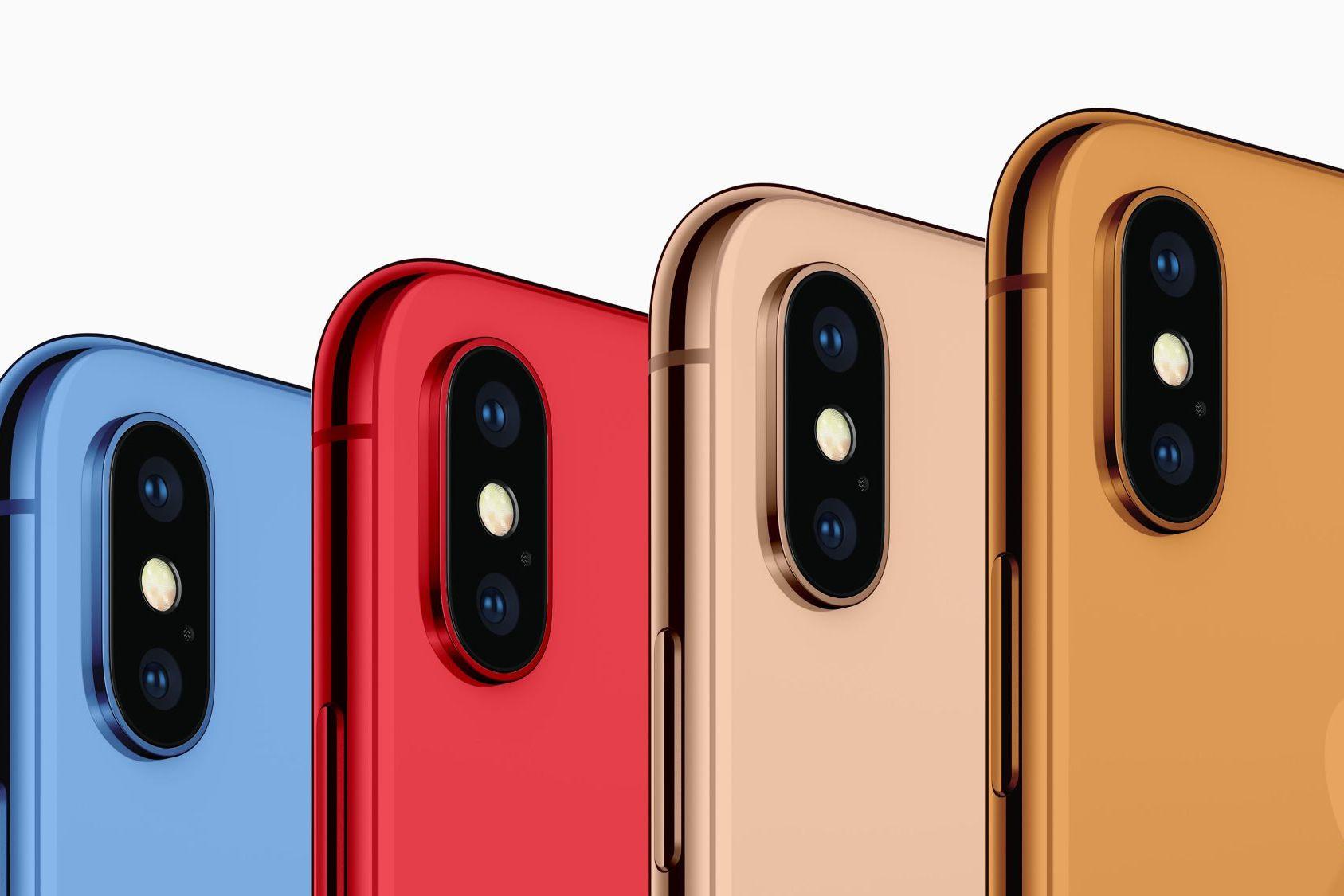 Azul, laranja e vermelho: conheça algumas das cores dos novos iPhones