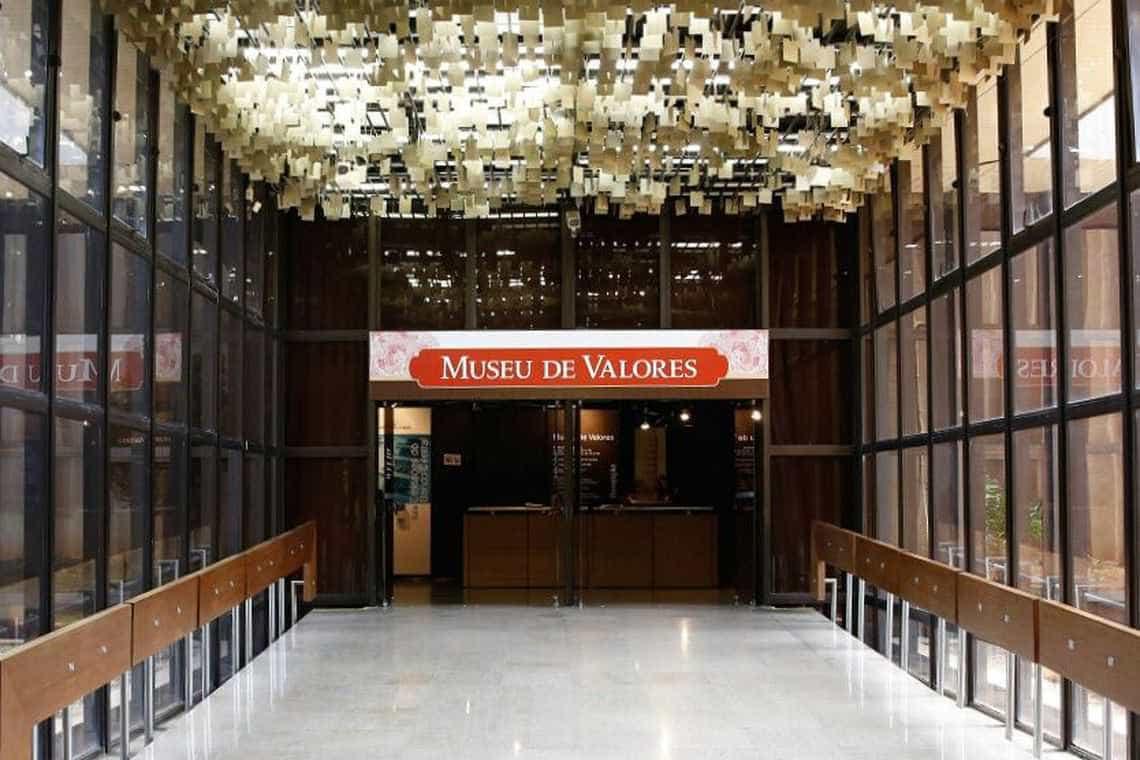 Museu de Valores do BC abre aos sábados neste mês de julho