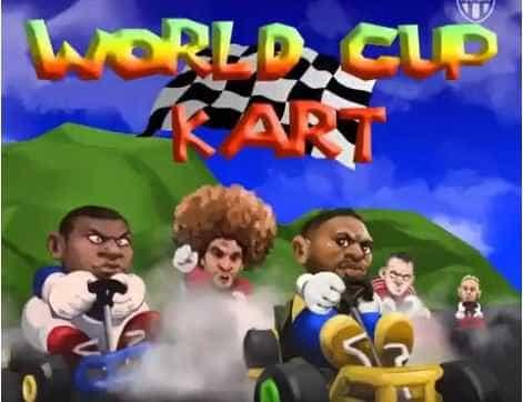 Animação transforma corrida do Mario Kart nas disputas da Copa