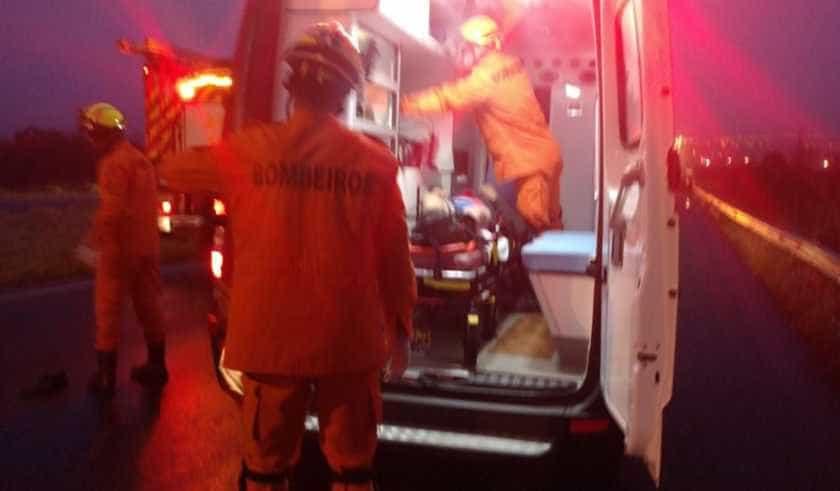 Motorista, grávida e 3 crianças morrem em acidente na BR-080