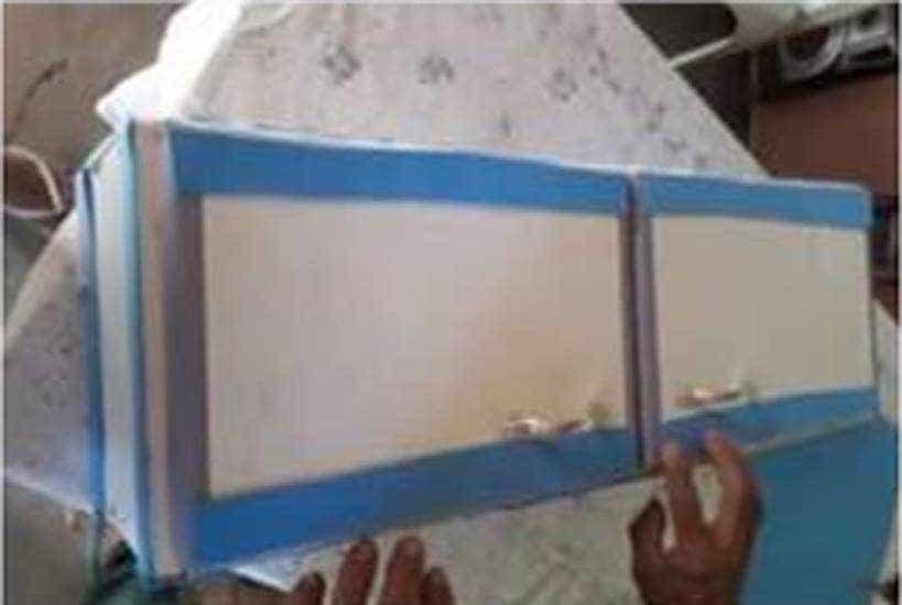Bebê é enterrado dentro de armário de cozinha por falta de caixão