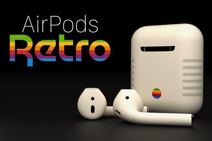 Confira os AirPods nostálgicos da Apple
