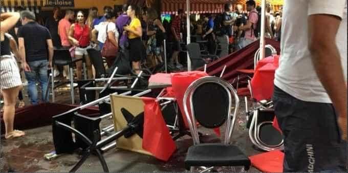 Fogos de artifício causam pânico em Nice durante Copa do Mundo
