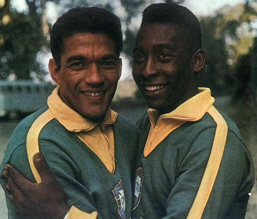 Pelé relembra último jogo ao lado de Garrincha, ocorrido há 52 anos