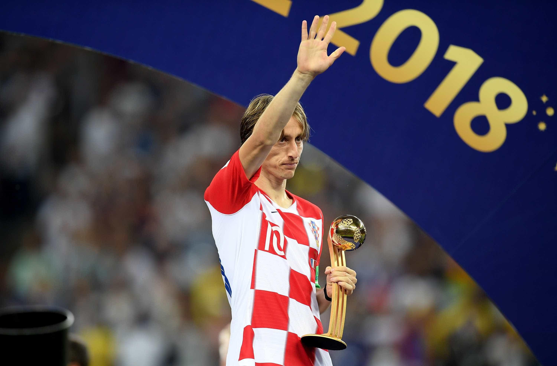 Croata Modric é eleito o melhor jogador da Copa do Mundo da Rússia