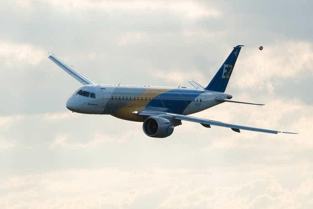 Embraer estima demanda de 10.550 aeronaves para até 150 assentos