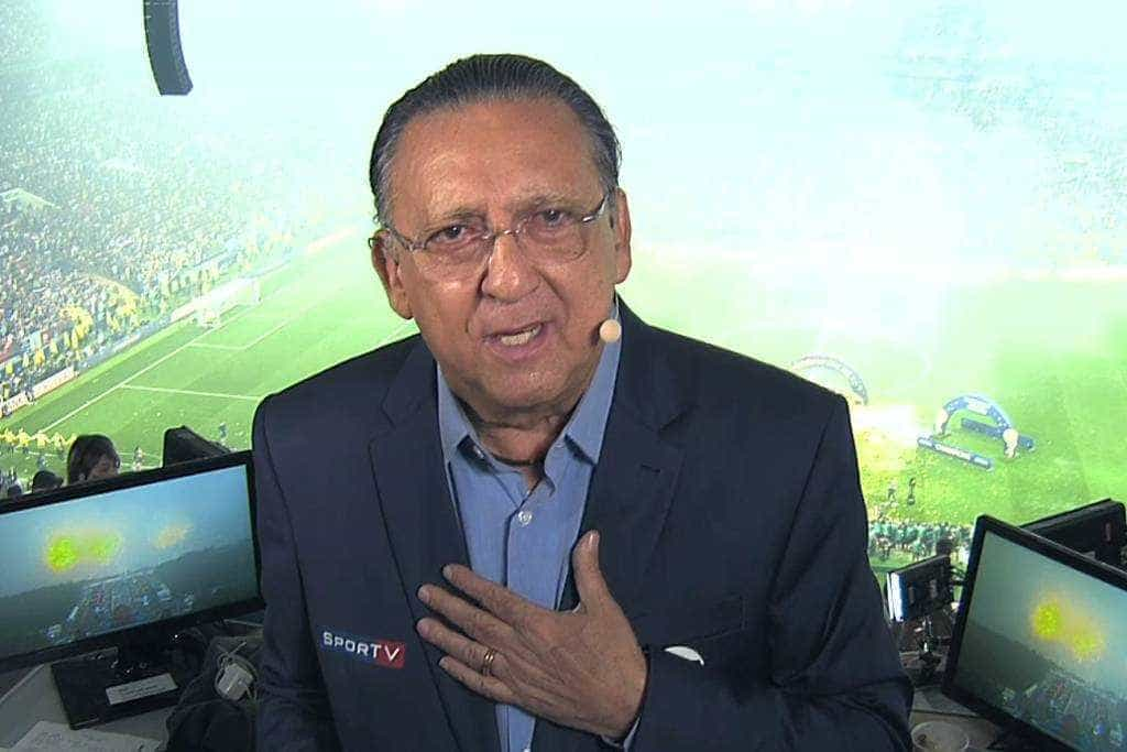 Galvão Bueno abre o jogo sobre rixas com Neymar e parças: 'me lixando'