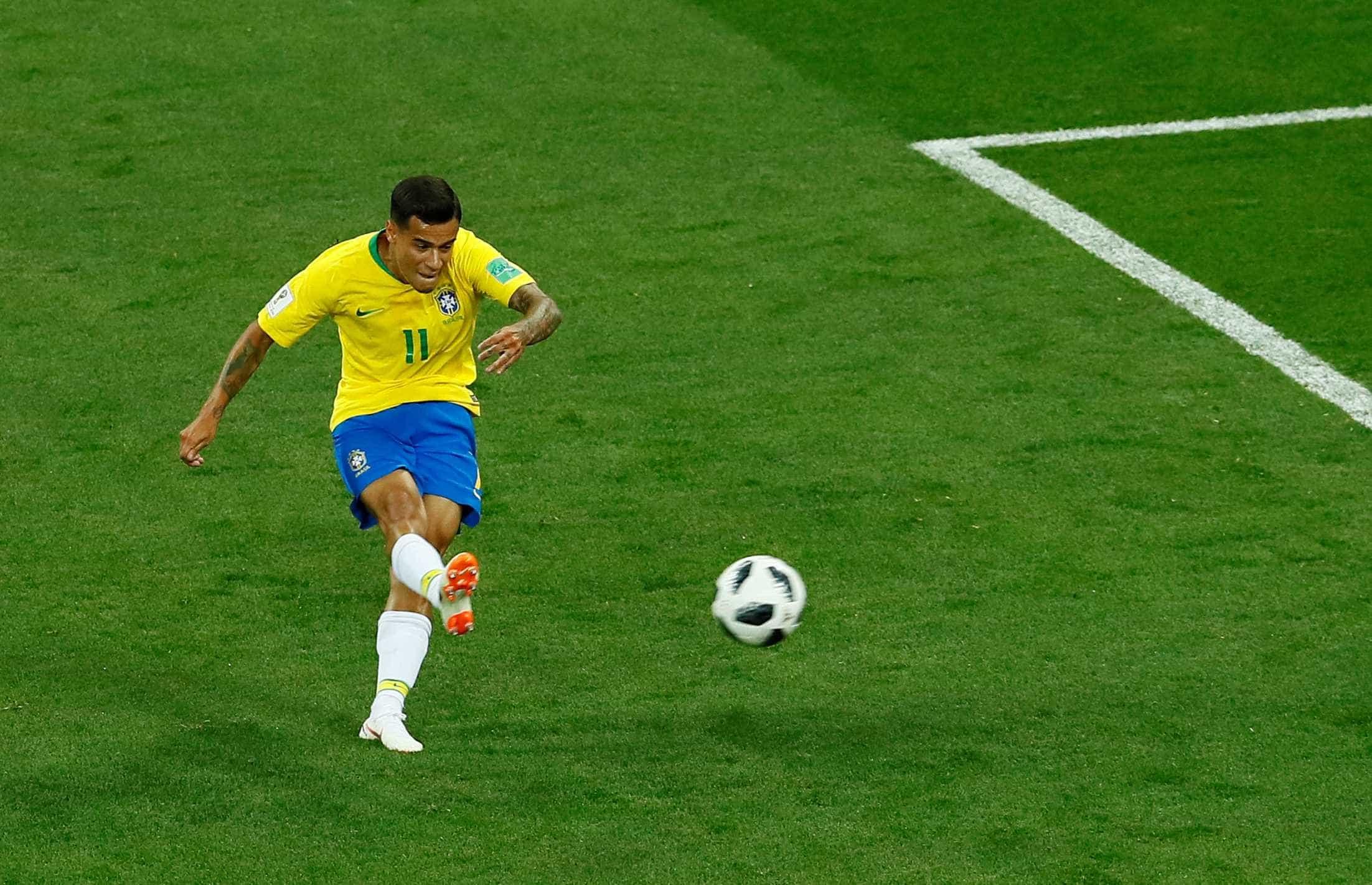 Gol de Philippe Coutinho pode ganhar como o melhor da Copa; vote!