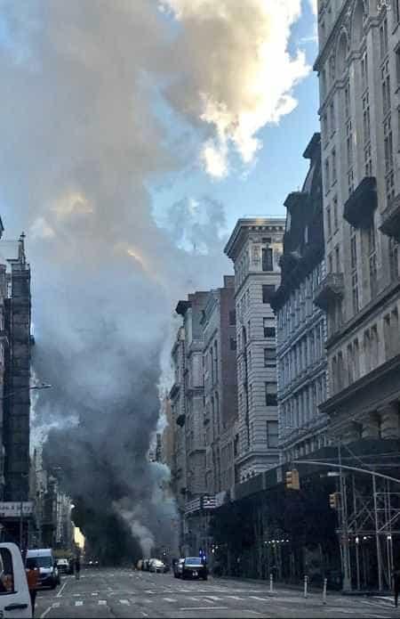 Explosão em Nova Iorque causa pânico na 5ª Avenida