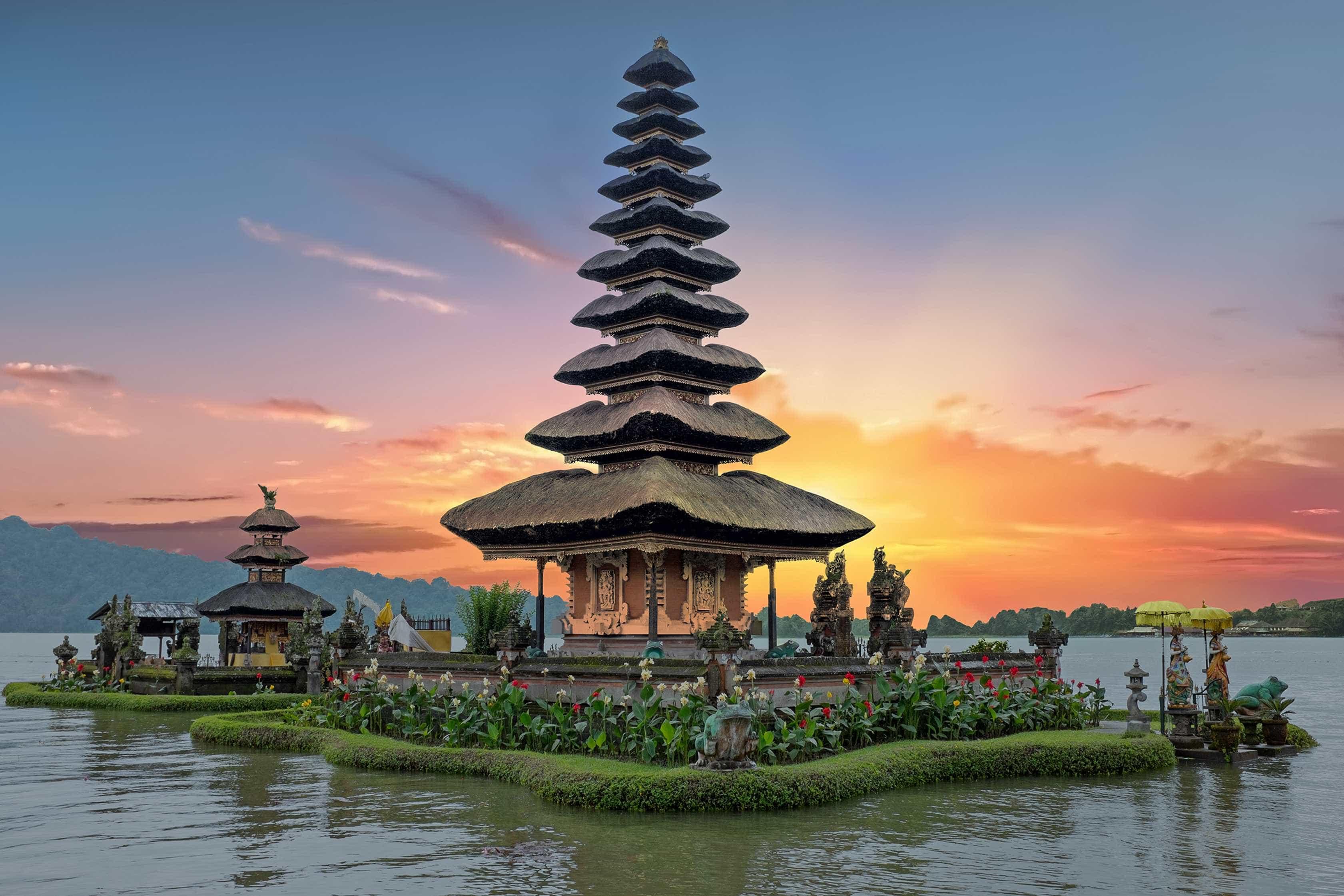 Confira o nascer do sol em Bali, um dos mais bonitos do mundo