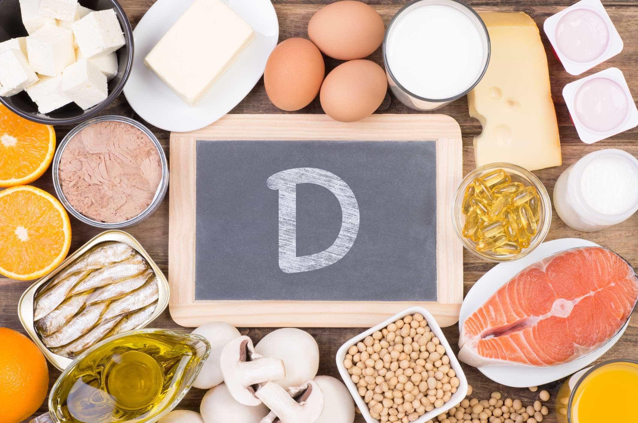 7 alimentos ricos em vitamina D
