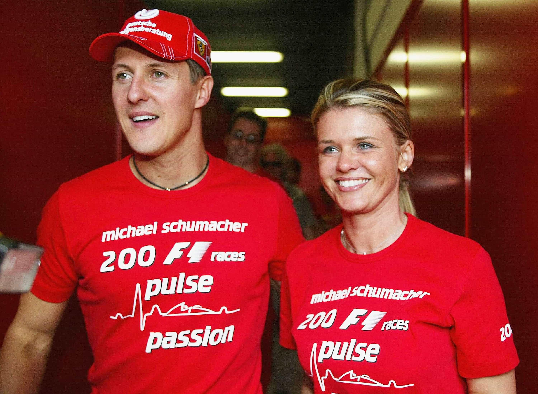 Esposa de Schumacher diz que ex-piloto não desistirá de recuperação