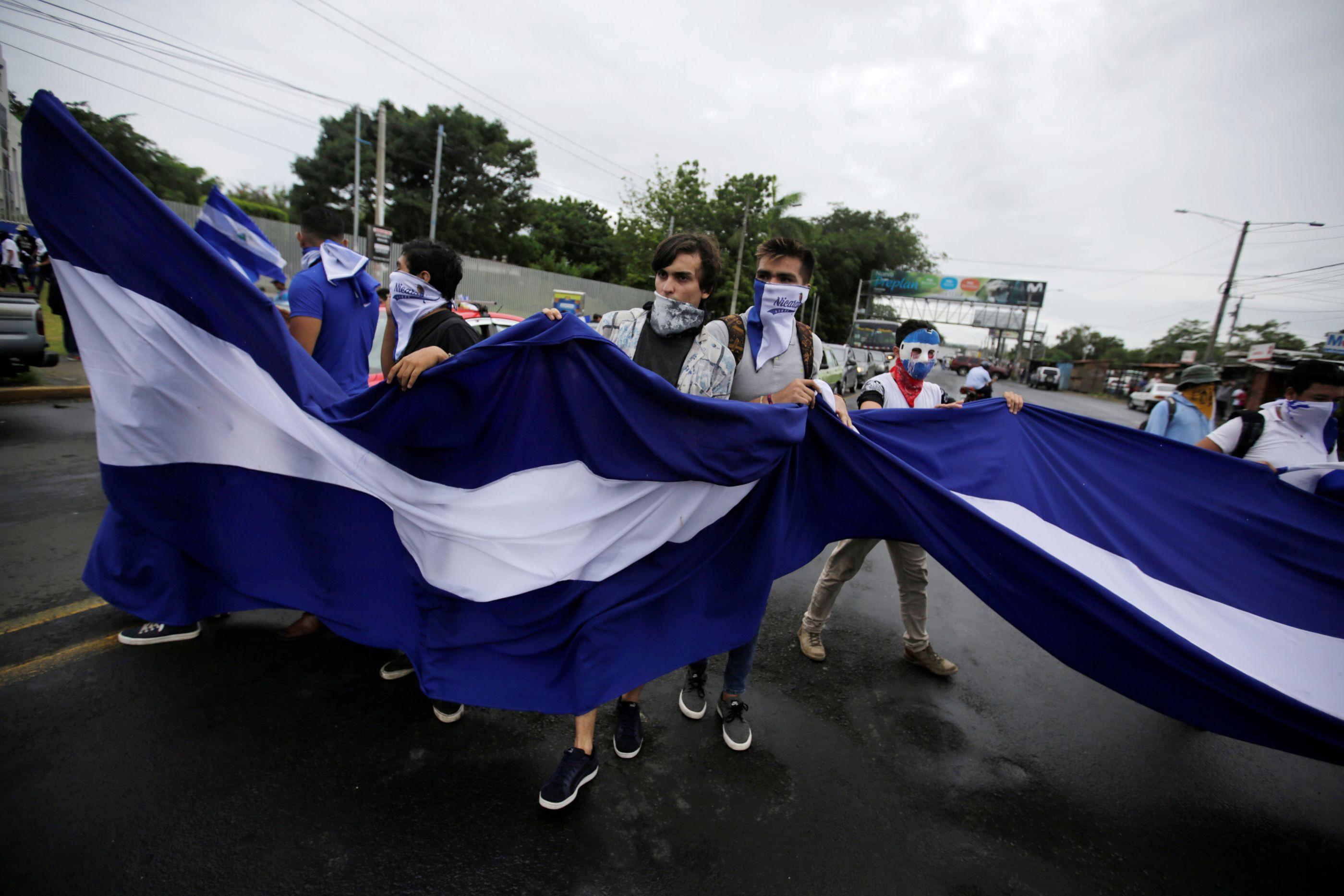Ao menos 19 detidos em protesto na Nicarágua; entre eles uma brasileira