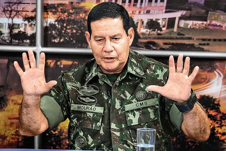 Incomodado com Mourão, partido de Bolsonaro quer púlpito vazio