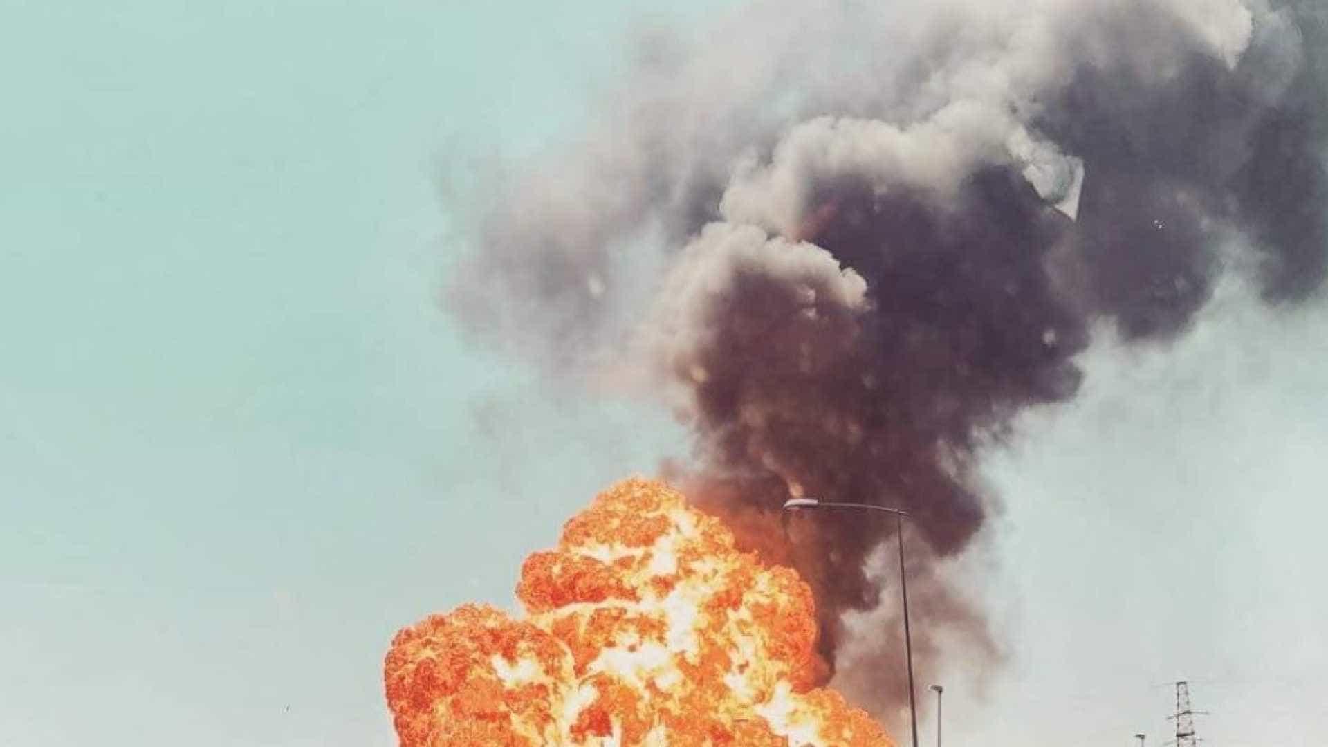 Vídeo mostra momento da explosão que causou dois mortos na Itália