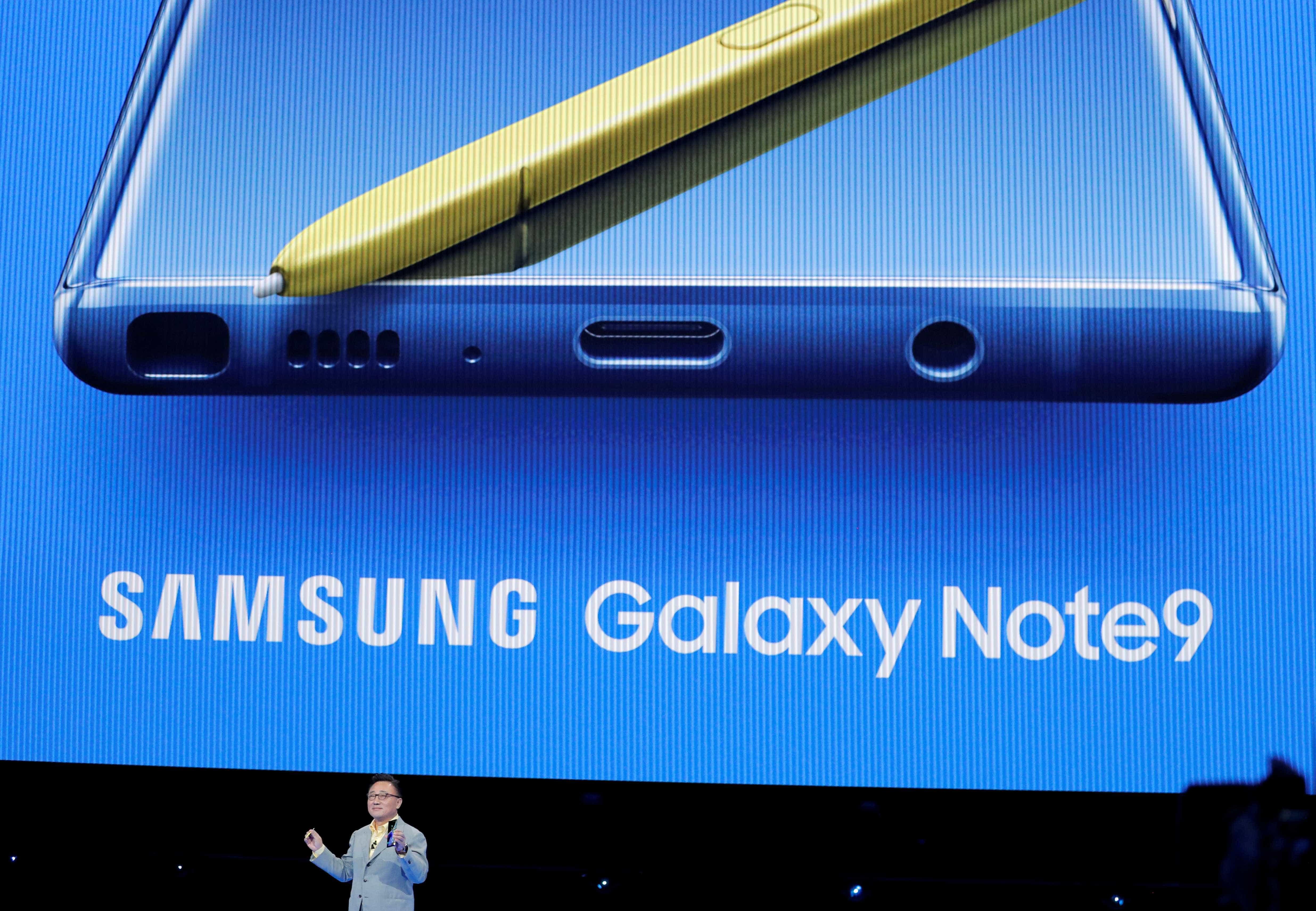 Descubra todas as funcionalidades da câmera do Galaxy Note9