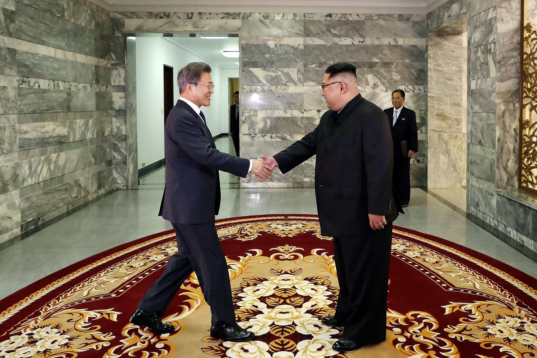 Coreias já preparam próximo encontro entre Kim Jong-un e Moon Jae-in