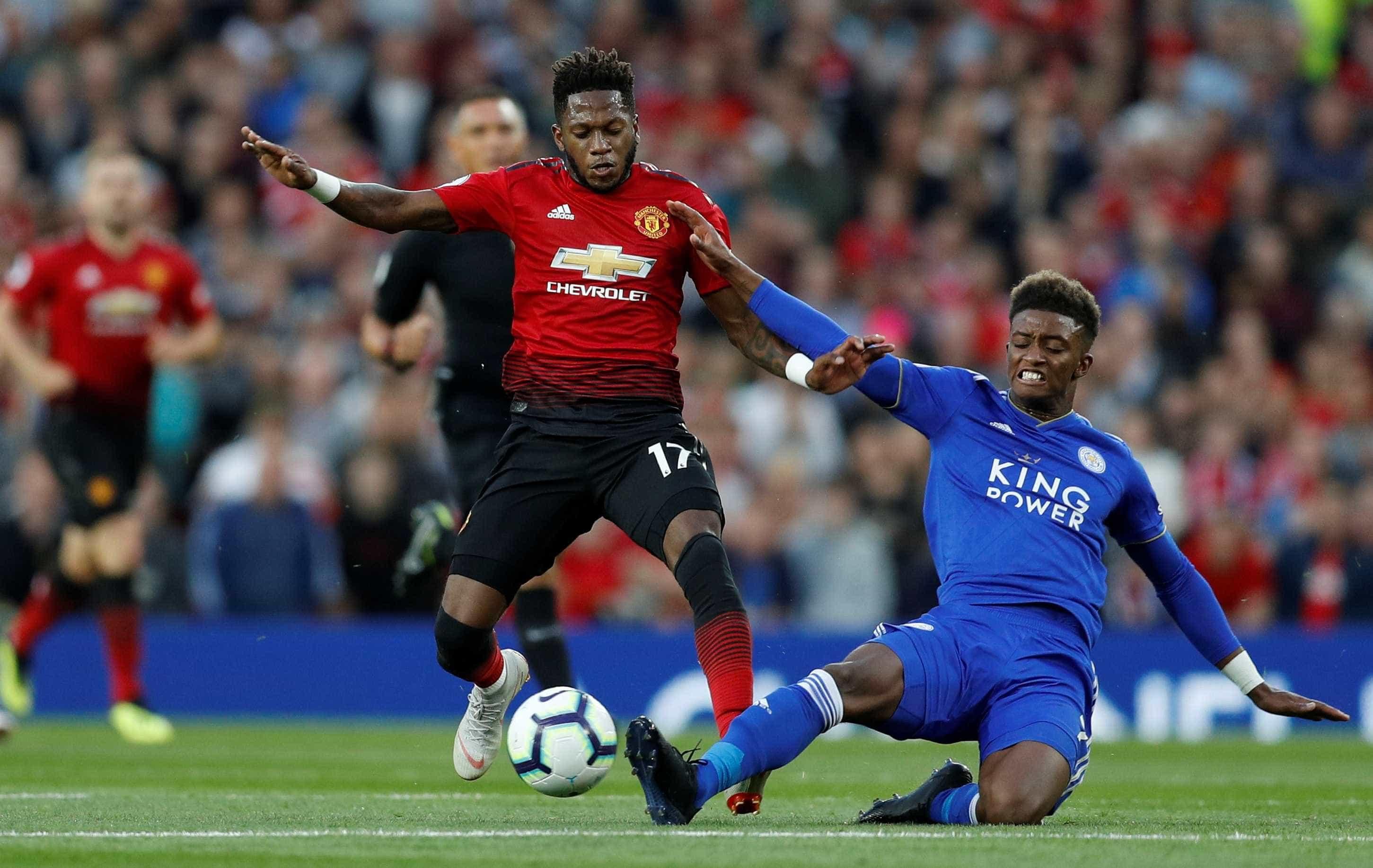 Na estreia de Fred, Man United vence Leicester pela 1ª rodada do Inglês