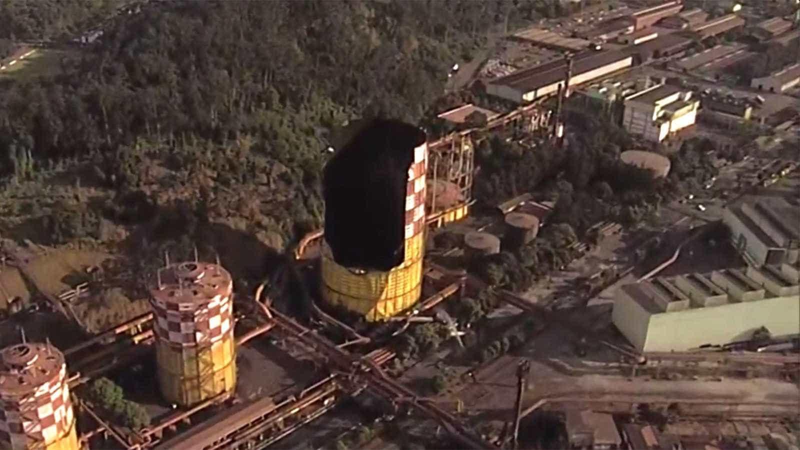 Explosão na Usiminas provoca abalo de 1,86 grau na escala Richter