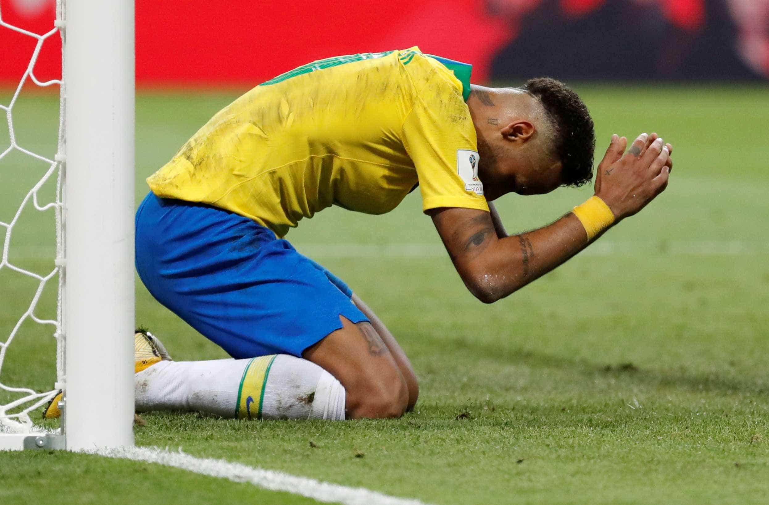 Neymar faz desabafo sobre Copa: 'Foi uma culpa exagerada para mim'