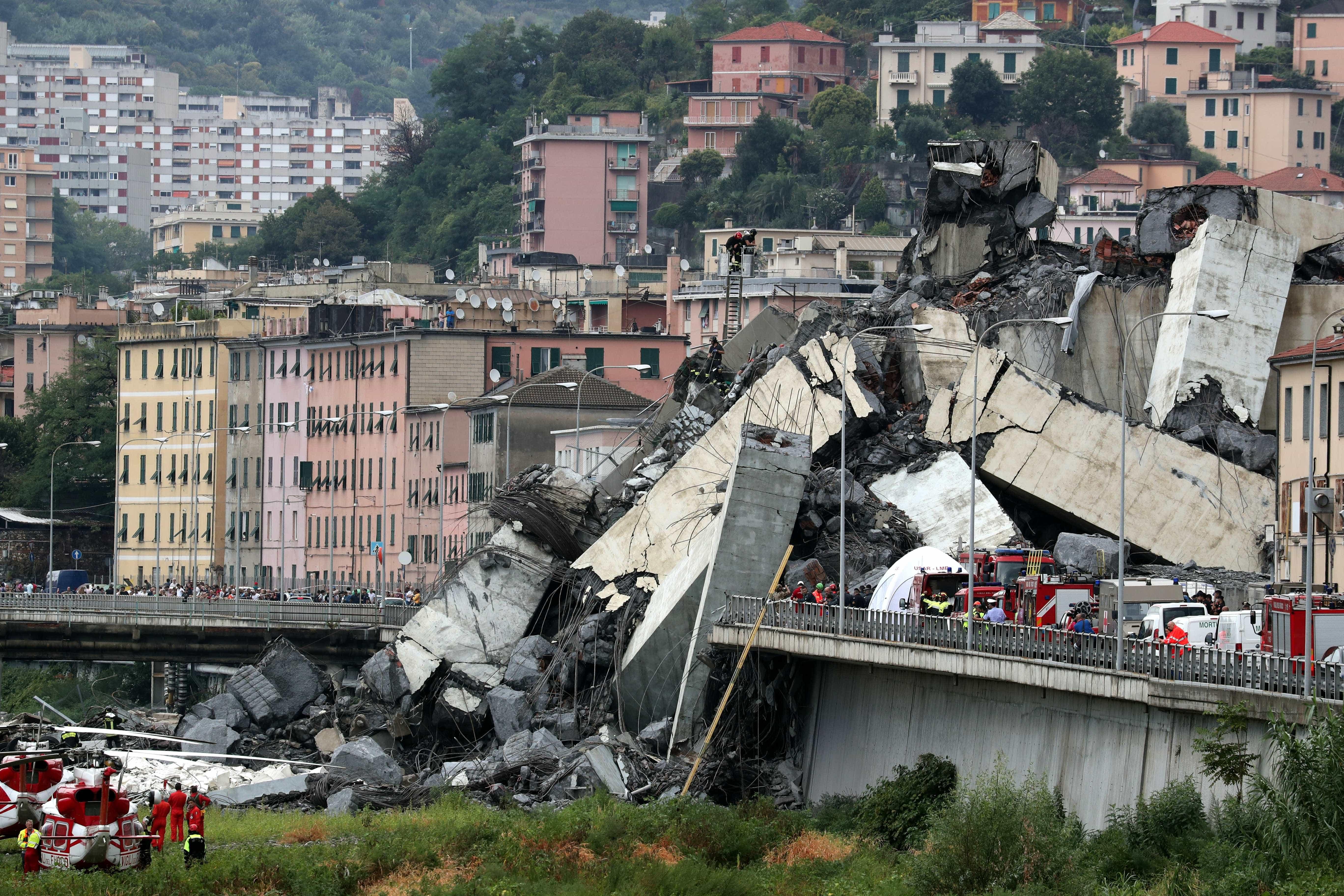 Obras de ponte em Gênova arriscam ter infiltração da máfia