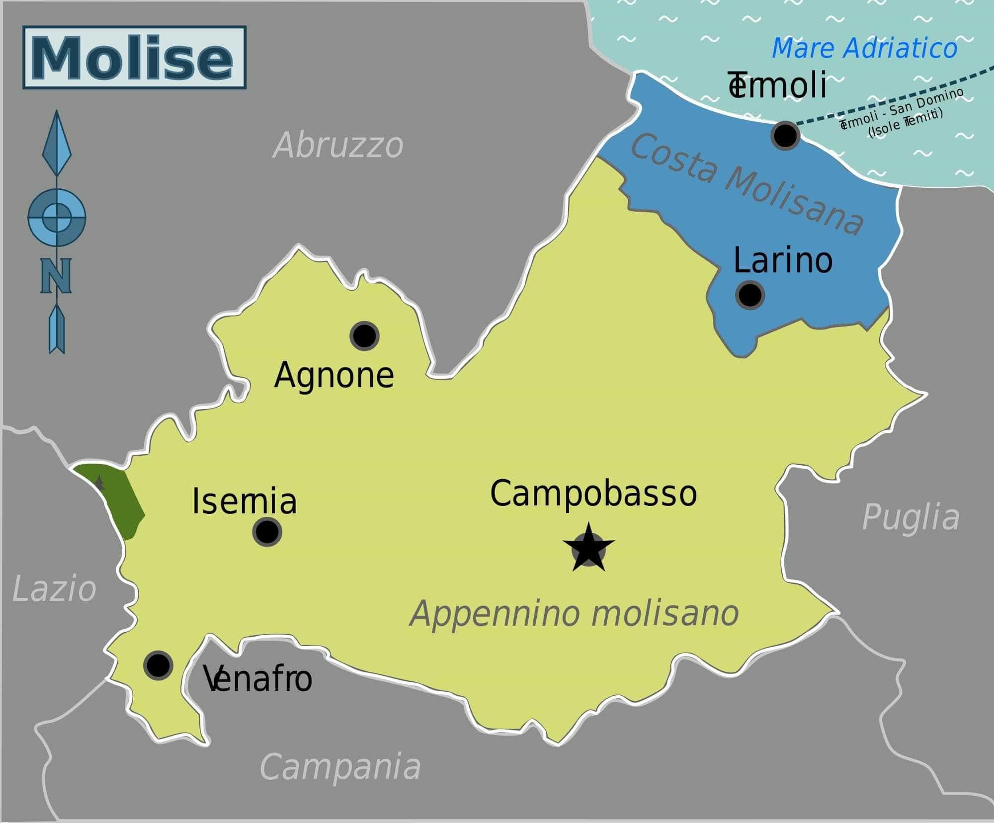 Terremoto de 5,2 graus atinge a região de Molise, na Itália