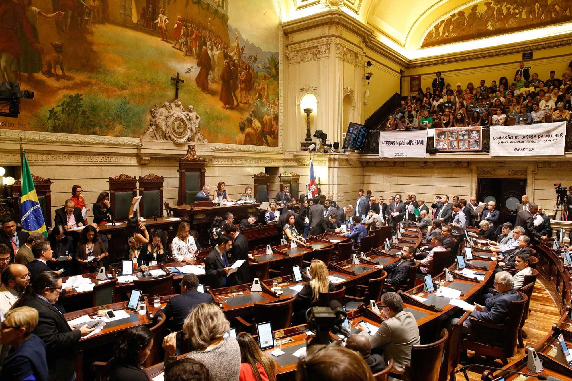 Câmara aprova cinco Projetos de Lei de Marielle Franco