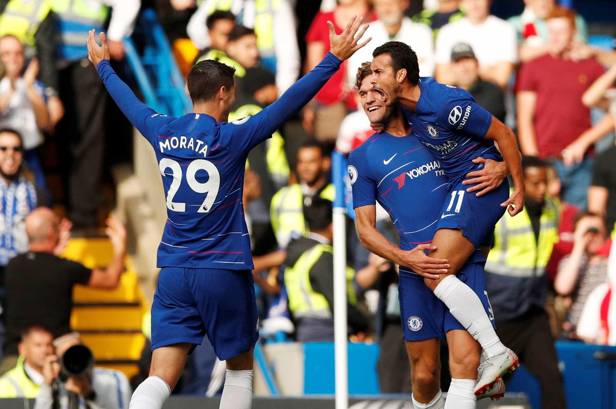 Chelsea vence o Arsenal e alcança a 2ª vitória no Inglês