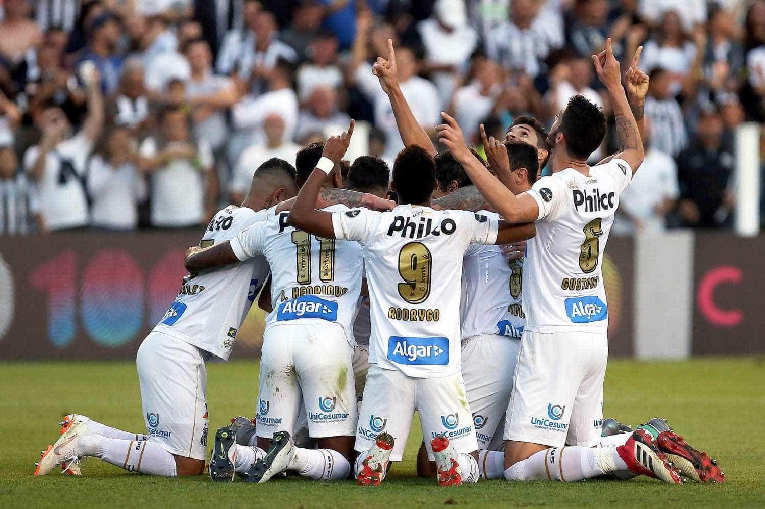 Santos desencanta no Brasileiro com vitória por 3 a 0 contra o Sport