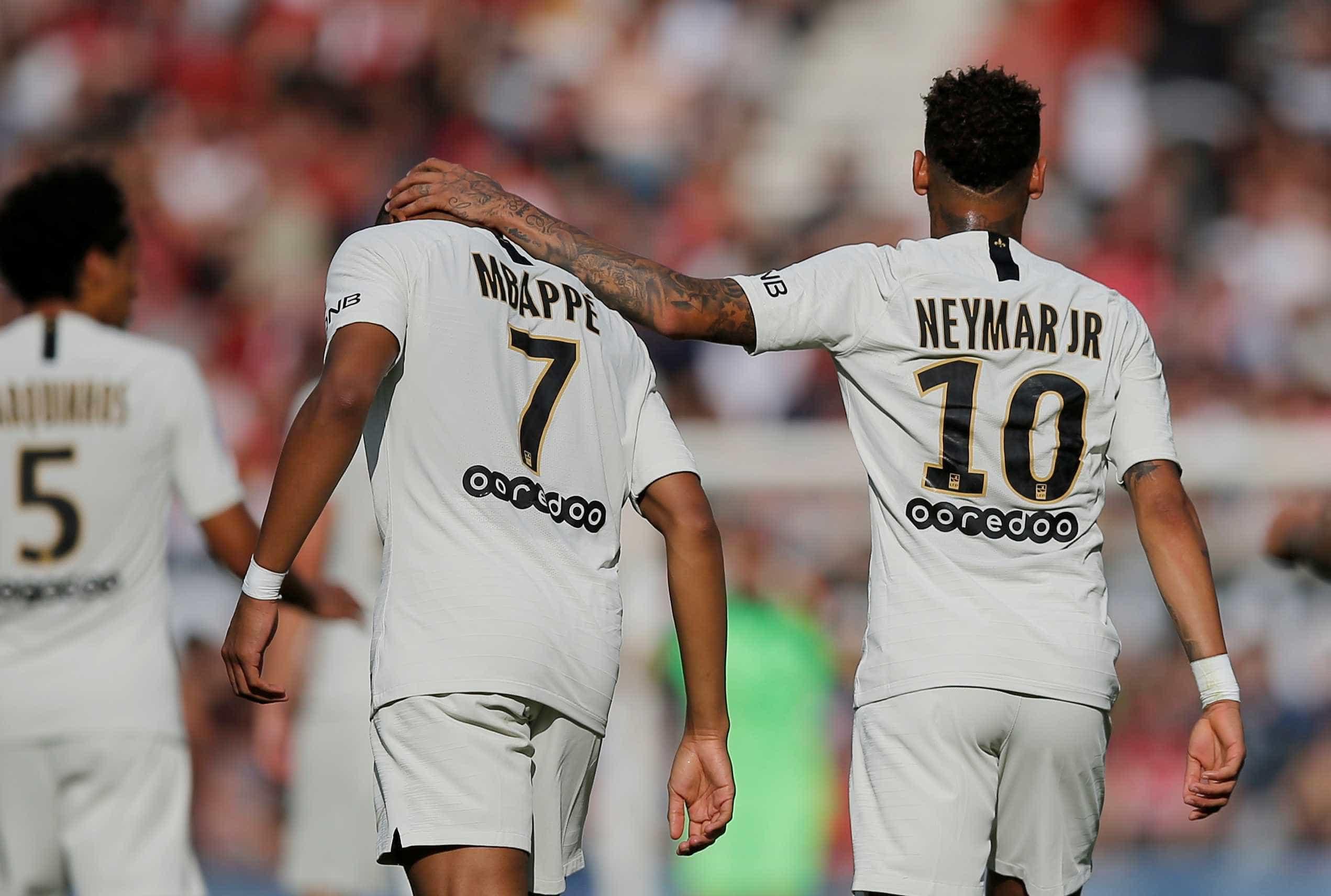 Mbappé comenta desempenho de Neymar após vitória do PSG