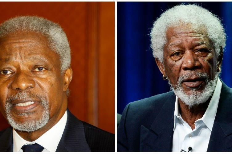 O dia em que Kofi Annan deu um autógrafo e assinou 'Morgan Freeman'