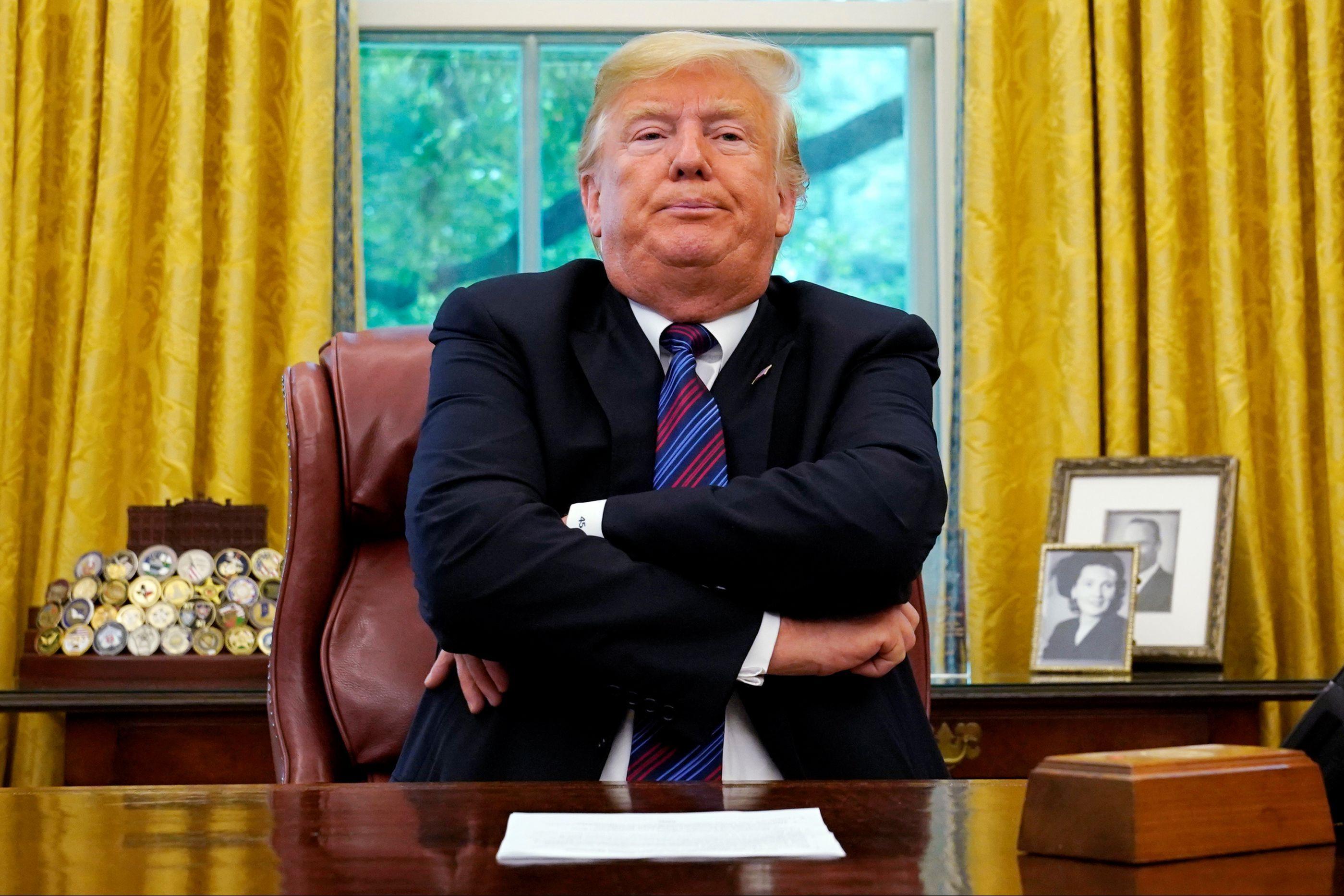 Trump abandona reunião que poderia acabar com 'shutdown'