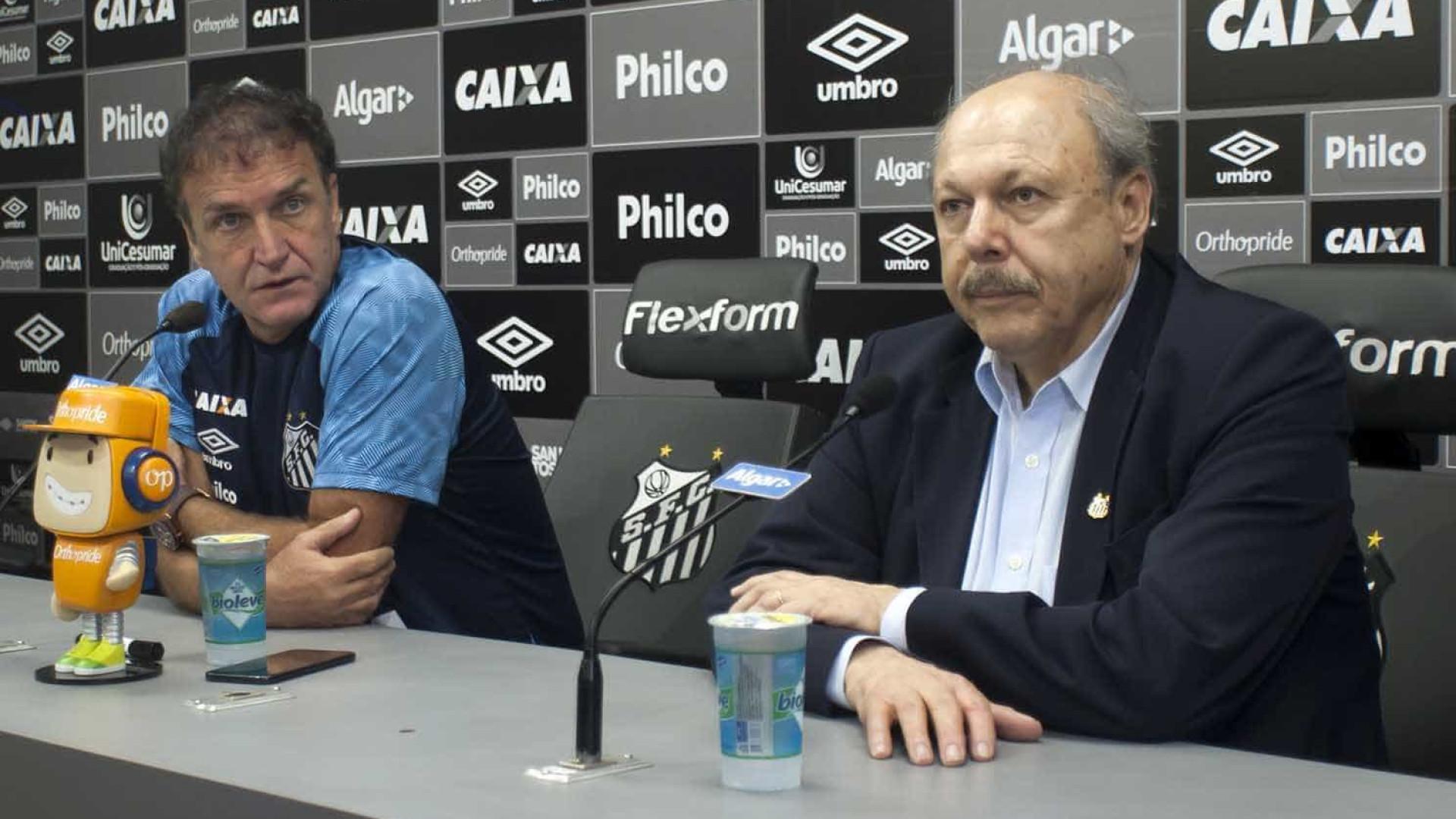 7e723a4e03 Presidente do Santos vê julgamento político e cogita parar Libertadores