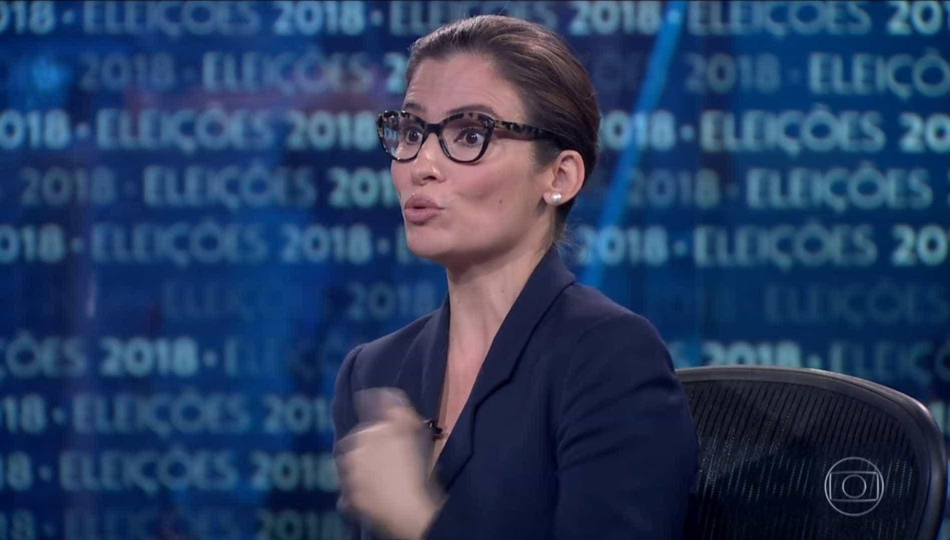 Embate com Renata Vasconcellos marca entrevista de Bolsonaro no JN
