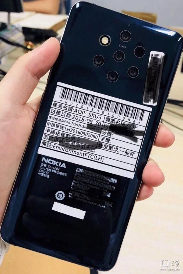 Imagem mostra smartphone Nokia com cinco câmeras; confira!