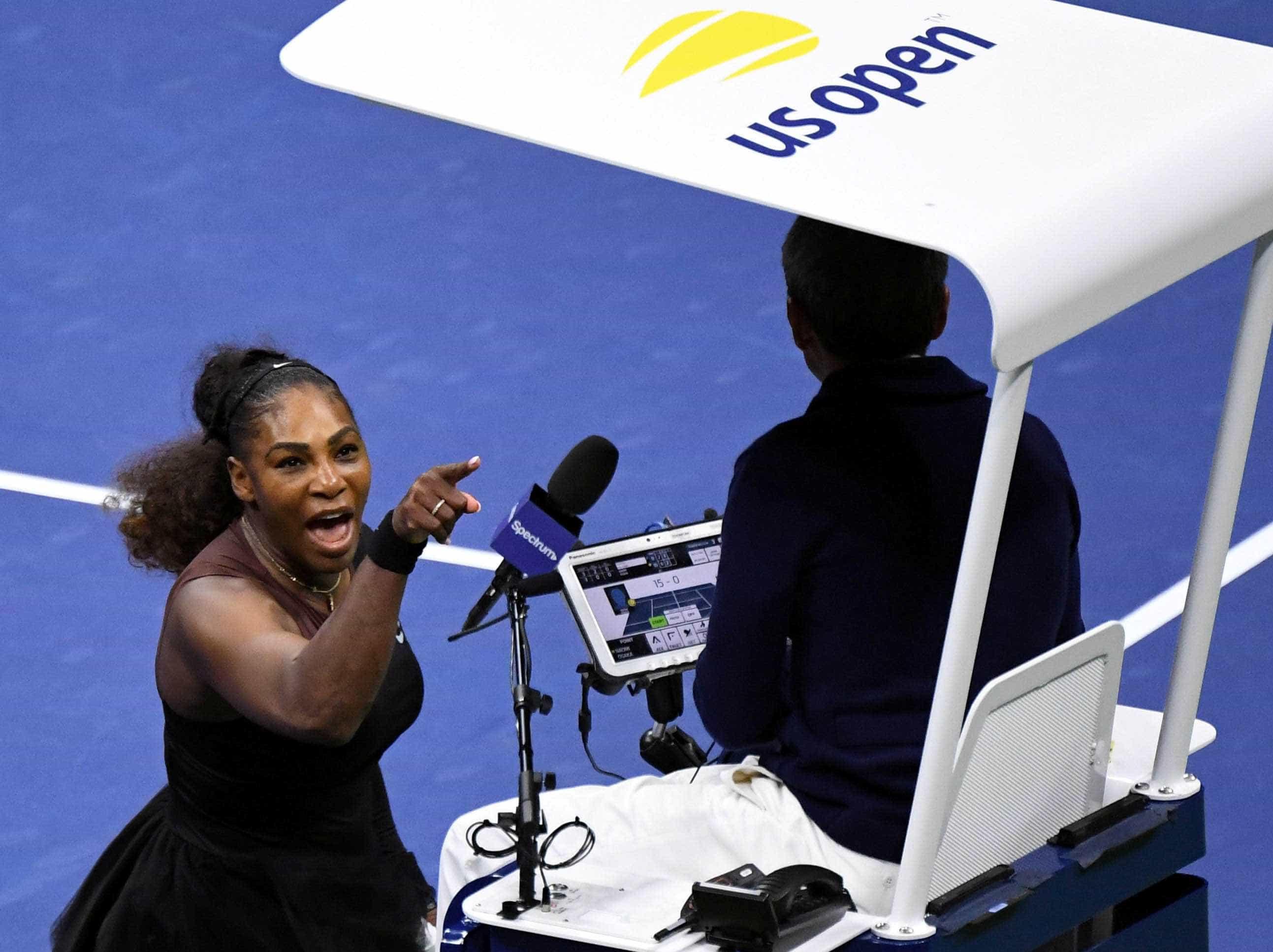 Árbitros de tênis podem criar associação após episódio com Serena