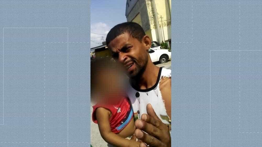 Pai de bebê é preso por inventar tentativa de sequestro do filho