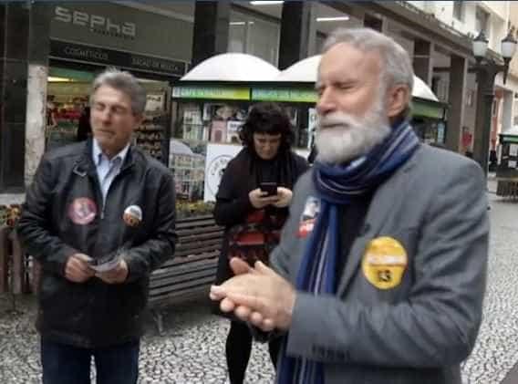 Em campanha, candidato do PT ao governo do Paraná é alvo de bomba