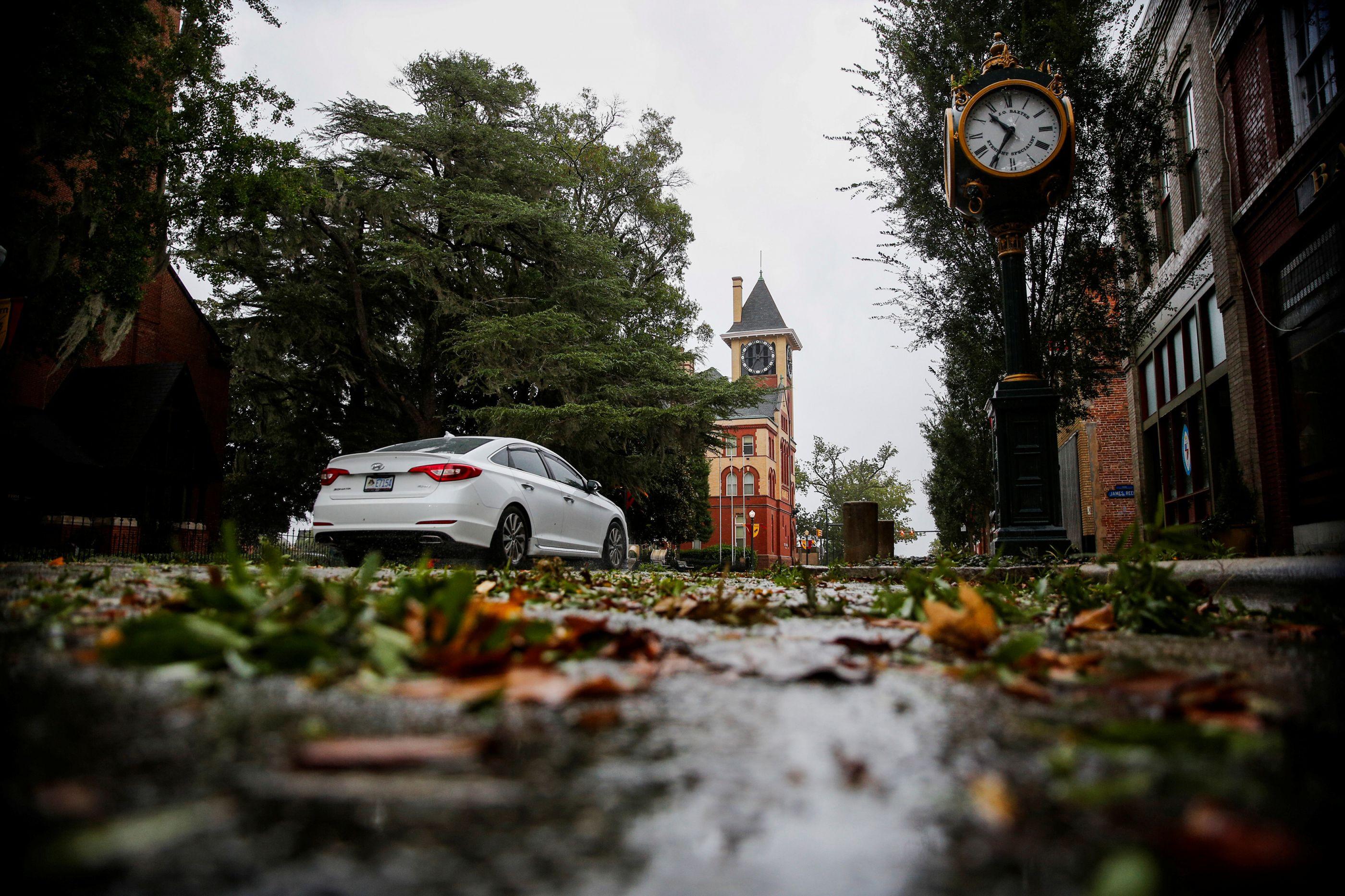 Olho do furacão: veja imagens do Florence ao chegar à Carolina do Norte