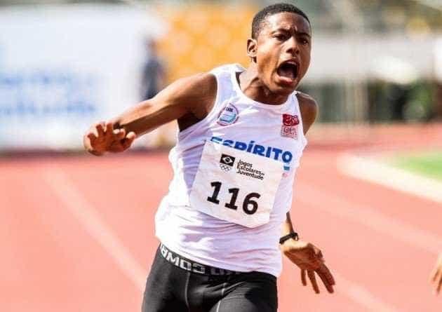Brasileiro se aproxima de marca histórica do atletismo nos 100 m